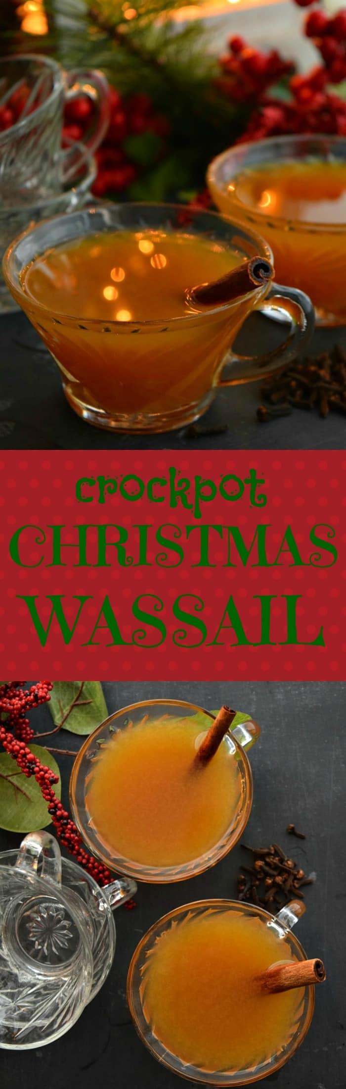 Crockpot Christmas Wassail