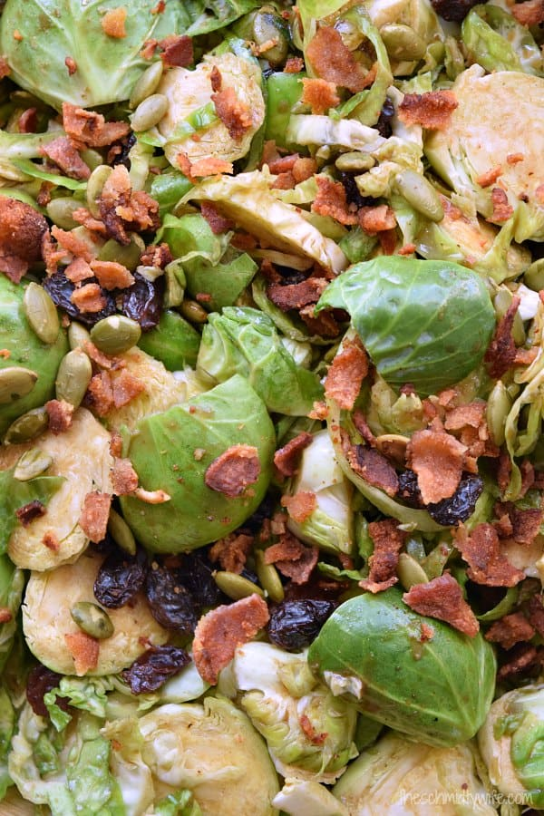 Balsamic Brussel Sprout Salad