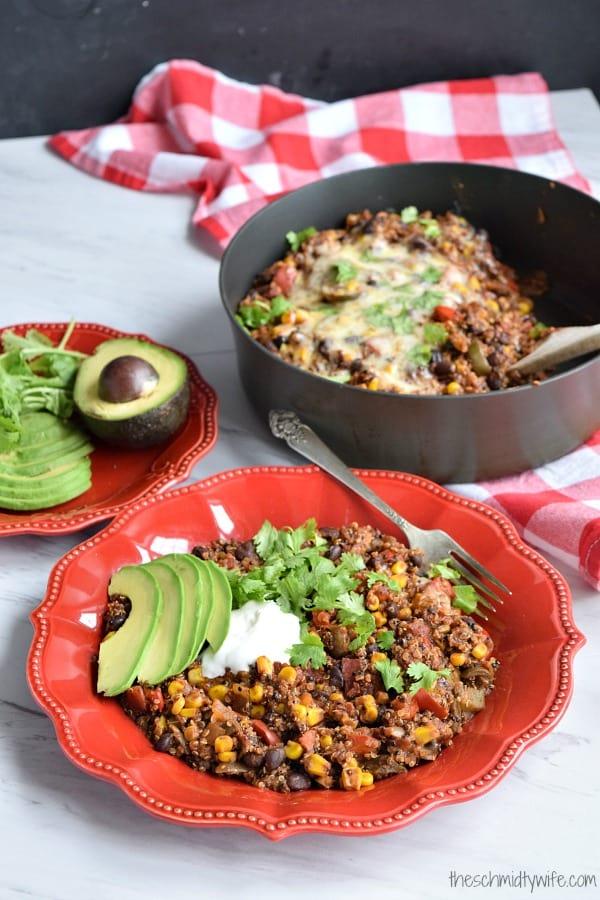 One Pot Southwest Quinoa