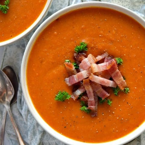 Overview of Roasted Butternut Squash & Carrot Soup