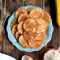 Mini Whole Wheat Banana Pancakes Recipes