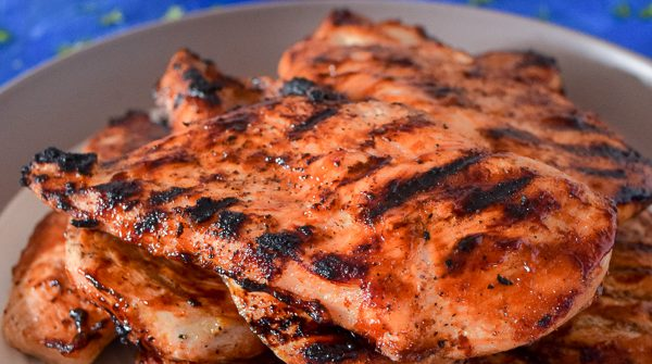 How To Grill Chicken Breasts with Barbecue Sauce