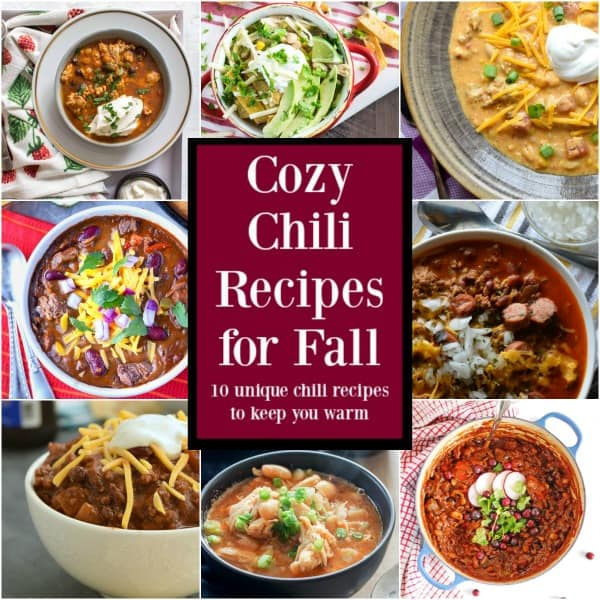 cozy chili recipes for fall