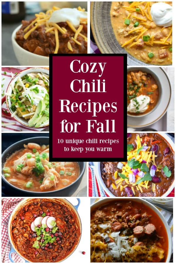 10 unique cozy chili recipes to keep you warm
