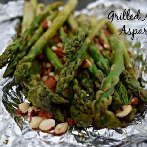 Grilled Almond Asparagus