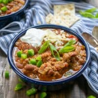 Secret Ingredient Turkey Chili Recipe