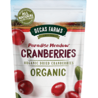 Decas Farms Organic Premium Dried Cranberries