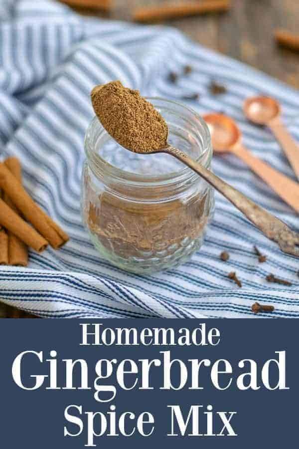 easy homemade gingerbread spice mixture
