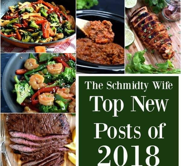 The Schmidty Wife top new posts of 2018