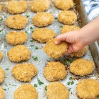 Baked Chicken Nuggets with Hidden Quinoa