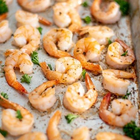 Oven Baked Shrimp Recipe