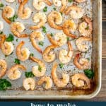 Oven Baked Shrimp - a 10 minute recipe with endless meal options