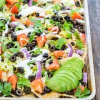 Black Bean Nachos Recipe