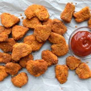 Healthier Baked Chicken Nuggets {Gluten Free}