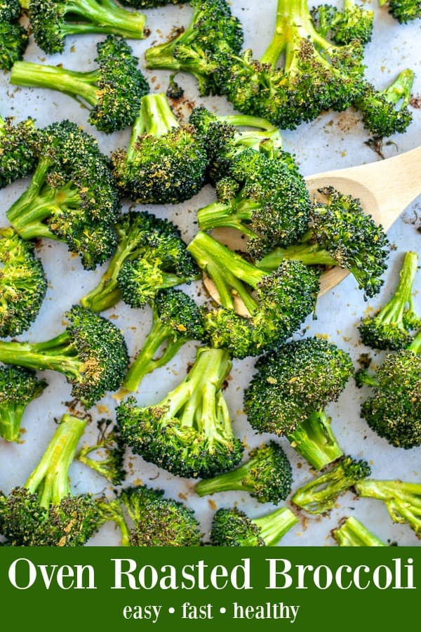 Oven Roasted Broccoli on a Sheet Pan - a perfect healthy side | Roasted Broccoli Recipe | Oven Roasted Broccoli Recipe | Best Oven Roasted Broccoli Recipe |Roasted Broccoli Recipes Healthy | Recipe for roasted Broccoli in the Oven