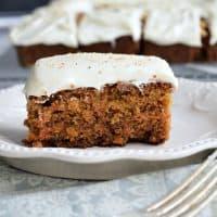 Orange Spiced Carrot Cake