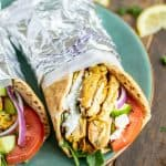 Slow Cooker Chicken Shawarma - a great healthy weeknight meal | Slow Cooker Chicken Shawarma | Easy Chicken Shawarma Slow Cooker | Slow Cooker Chicken Shawarma Recipe | Chicken Shawarma in Slow Cooker | Slow Cooker Yogurt Chicken Shawarma