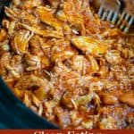 clean eating barbecue chicken in a crockpot