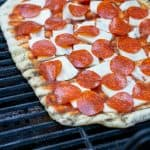 the best grilled pepperoni pizza