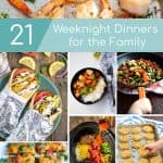 weeknight dinner recipes for the whole family to enjoy