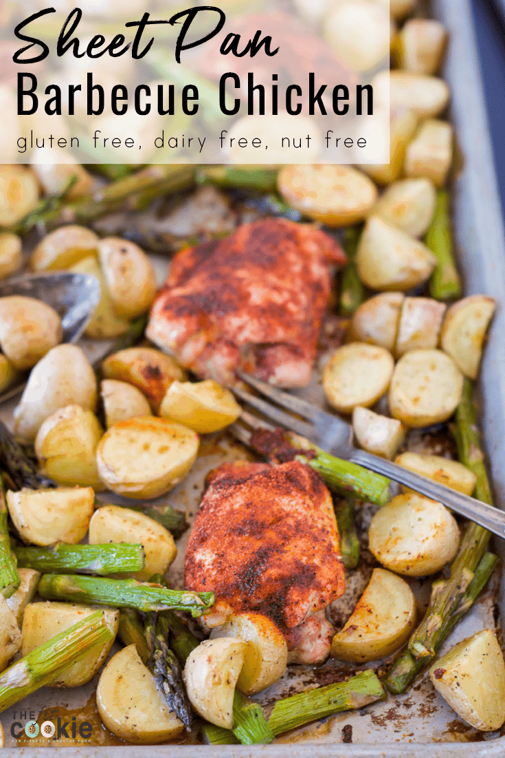 Sheet Pan Barbecue Chicken with Potatoes (Grain Free)