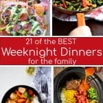 Round up of the best weeknight dinner recipes on the internet