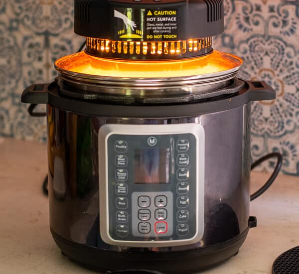 crisplid review about turning the multipot into an air fryer