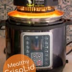crippled turning the pressure cooker into an air fryer