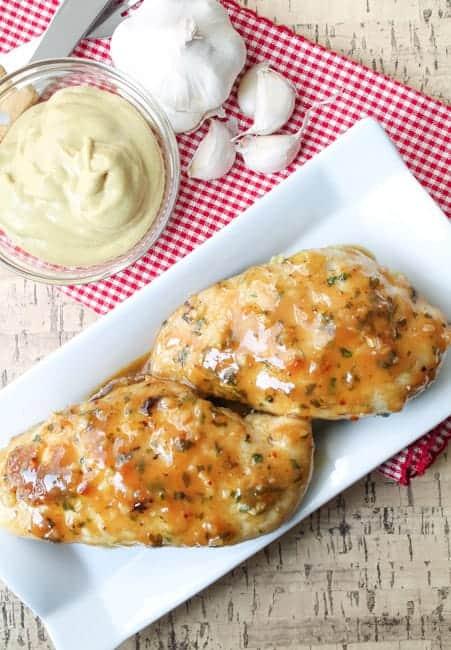 Garlic Maple Dijon Chicken - Gluten Free