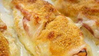 Easy Chicken Cordon Bleu Bake in the Oven