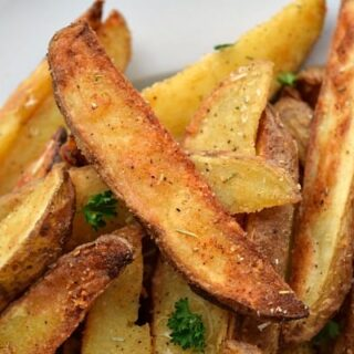 Parmesan Rosemary Baked Potato Wedges