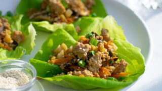 Healthy Asian Chicken Lettuce Wraps for the Whole Family