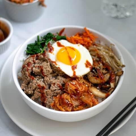 Korean Turkey Bibimbap
