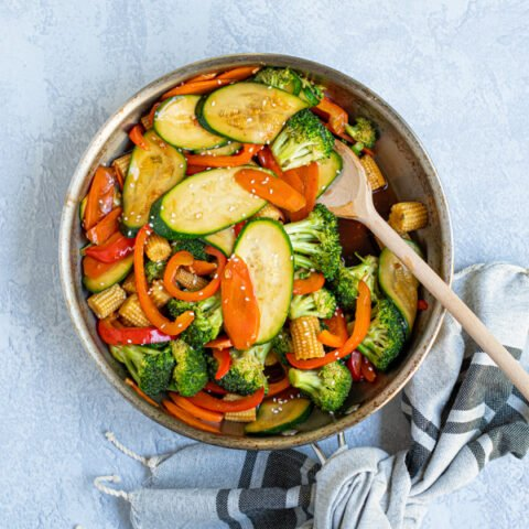 Healthy Simple Vegetable Stir Fry Recipe The Schmidty Wife